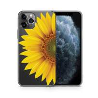 iPhone Xr Cases Clear Case Yard iPhone Xr Case Slim Fit Xr iPhone Case Clear Sunflower iPhone Xr Case Soft & Flexible TPU Ultra-Thin Shockproof Transparent Girls and Women Cute Cover Xr Phone Case