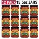 Red Gold | Premium Salsa | 10 Calories per Serving | 15.5 oz Jars (Mild, 12 pack)