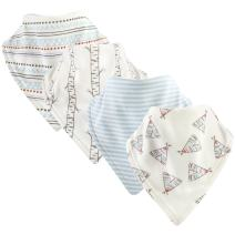 Touched by Nature Unisex Baby Organic Cotton Bandana Bibs