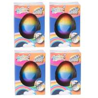 Class Collections Small Growing Unicorn Hatch Egg with Rainbow Shell Kids Novelty Toy- Pack of 4