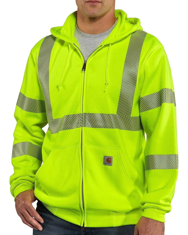 Carhartt Men's High Visibility Class 3 Sweatshirt