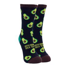 Blunt Jokes Quotes Fast Food Pugs and Avocado Novelty Socks for Men and Women
