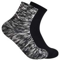 Frye womens 2-pack Chunky Marled Shortie Ankle Socks