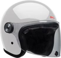 Bell Riot Flip-Up Motorcycle Helmet (Solid Gloss White, XX-Large)