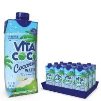 Vita Coco - Pure Coconut Water (330ml x 12) - Naturally Hydrating - Packed With Electrolytes - Gluten Free - Full Of Vitamin C & Potassium