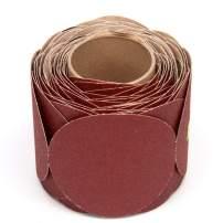 "3M Stikit Paper Disc Roll 763U, PSA Attachment, Ceramic Aluminum Oxide, 5"" Diameter, 80 Grit (Roll of 100)"