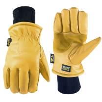 Men's HydraHyde Leather Winter Work Gloves (Wells Lamont 1202XX)