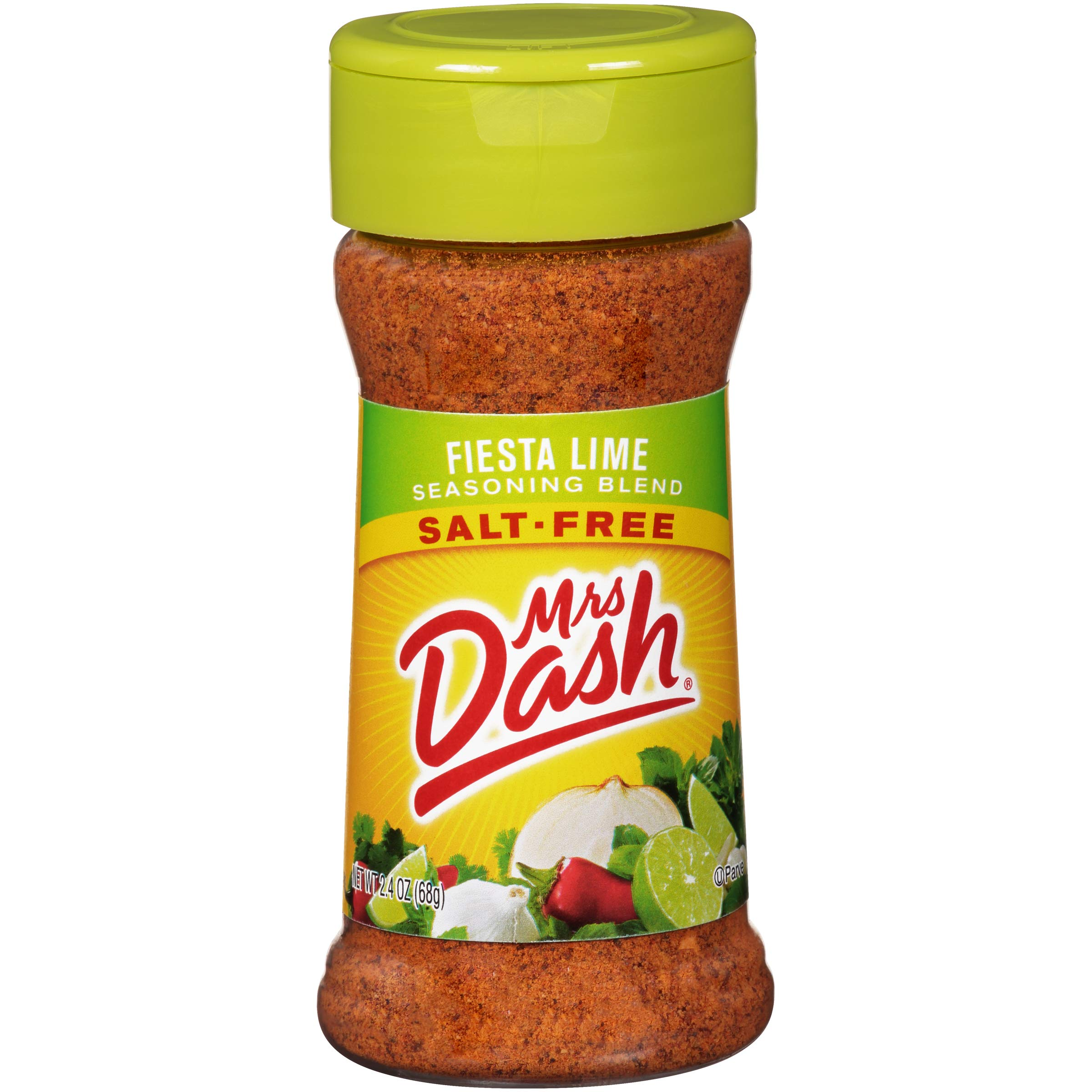 Mrs. Dash, Seasoning Blend, Fiesta Lime, 2.4 Ounce (Pack of 12)
