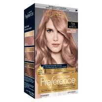 L'Oréal Paris Superior Preference Fade-Defying + Shine Permanent Hair Color, 7RB Dark Rose Blonde, 1 kit Hair Dye