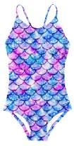 Goodstoworld 3-10 Years Girls One-Piece Swimwear Elasticity Bandage Novelty Bathing Suit