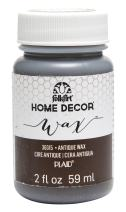 FolkArt 36315 Home Decor Chalk Furniture & Craft Paint in Assorted Colors, 2 ounce, Antique Wax