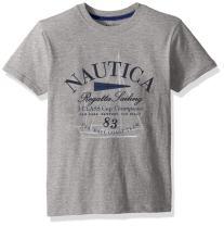 Nautica Boys' Little Short Sleeve Sailing Graphic T-Shirt