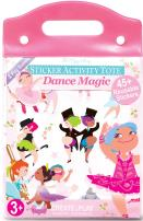 The Piggy Story 'Dance Magic' Reusable Cling Sticker Activity Tote with Over 45 Stickers