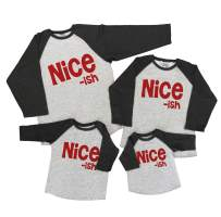 7 ate 9 Apparel Matching Family Christmas Shirts - Funny Nice ish Grey Shirt
