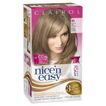 Clairol Nice 'n Easy Foam Hair Color 8A Medium Ash Blonde 1 Kit