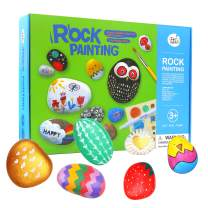 Jar Melo Rock Painting Kits for Kids; Non-Toxic; Hide and Seek Rock Craft Art; Creative Colorful Magic Stone; Creative Gift; Arts and Crafts Kits for Adults and Kids