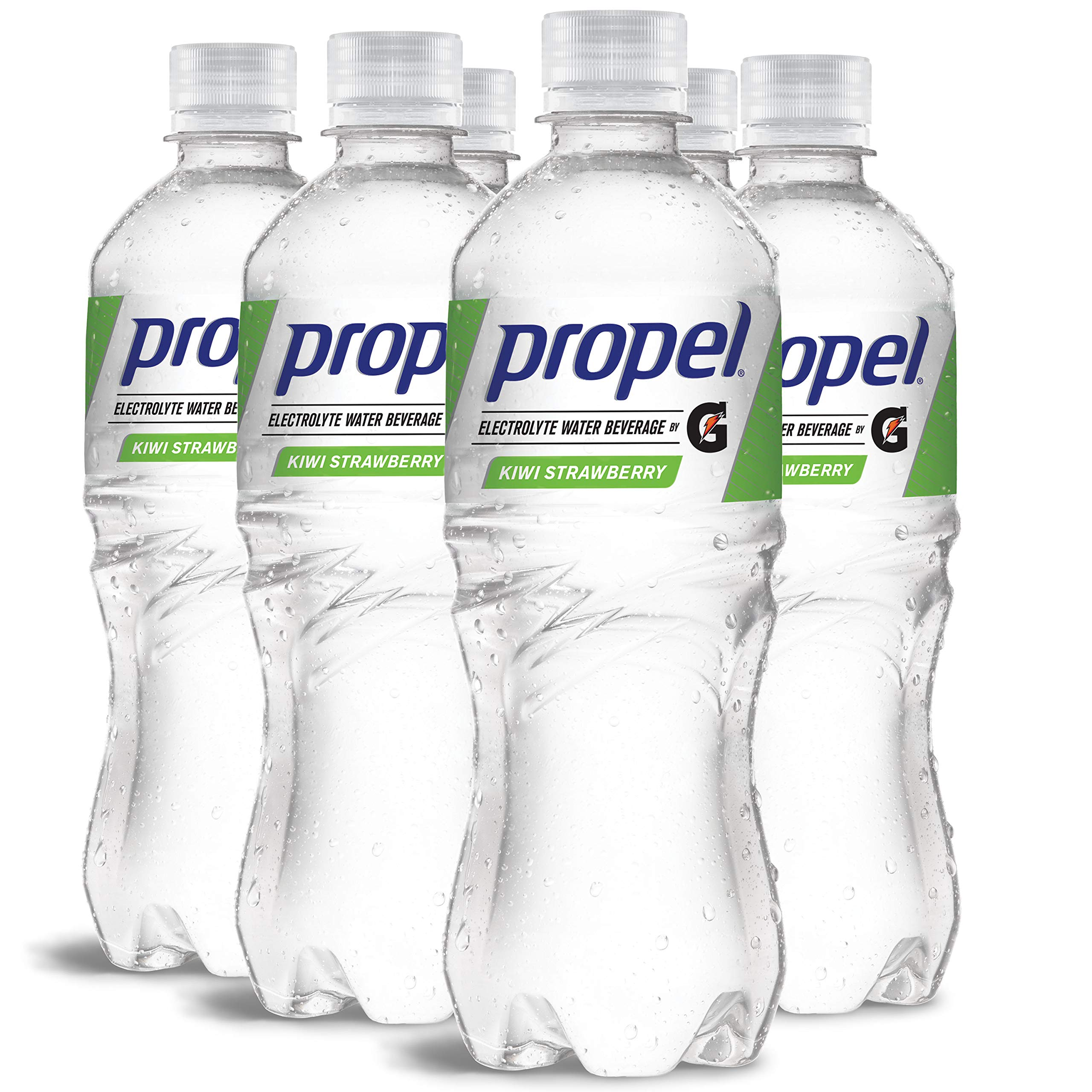 Propel Water Kiwi Strawberry Flavored Water With Electrolytes, Vitamins and No Sugar 16.9 Ounces (Pack of 6)