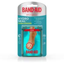 Band-Aid Brand Hydro Seal Corn Cushion Bandages, Waterproof Corn Pads, Medium, 10 ct