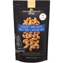 SQUIRREL BRAND Artisan Nuts Sweet Brown Butter Cashews, 3.5 oz
