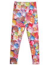 Girl Unicorn Leggings Kid Rainbow Print Legging Tights Trousers Slim Long Pants