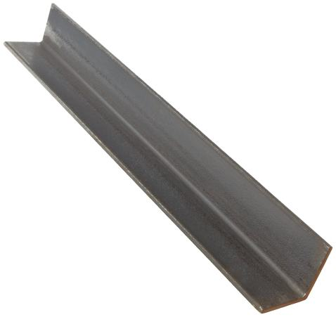 6063 Aluminum Angle 48 Length Extruded 1//2 Leg Lengths Rounded Corners T52 Temper AMS QQ-A 200//9 Mill Unpolished Finish 0.125 Wall Thickness Equal Leg Length