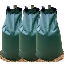 USHIGHTLIGHT All New 20 Gallon Tree Watering Bag, Slow Release Watering Bag for Trees, Portable Tree Drip Irrigation Bag, Water Saving Irrigation Water System(1/2/3) (3, 20 Gallon)