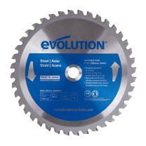 Evolution Power Tools 185BLADEST Steel Cutting Saw Blade, 7-1/4-Inch x 40-Tooth