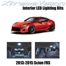 XtremeVision LED for Scion FR-S FRS 2013-2015 (10 Pieces) Cool White Premium Interior LED Kit Package + Installation Tool