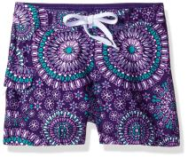 Kanu Surf Girls' Sassy UPF 50+ Quick Dry Beach Coverup Boardshort