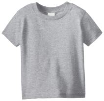 Clementine Apparel Little Girls' Short-Sleeve Basic T-Shirt