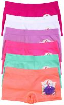 ToBeInStyle Girl's Pack of 6 Fun Print Training Bras Top or Boyshort Underwear