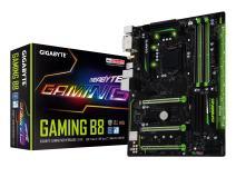 GIGABYTE GA-Gaming B8 LGA1151 Intel ATX 2-Way Crossfire DDR4 USB 3.1 USB Type-C RGB Fusion M.2 Smart Fan 5 Motherboard