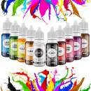 Food Coloring Liquid Set - WayEee 10 Colors Vibrant Tasteless Food Dye Liquid for Baking, Cake Decorating, Icing, Cooking, Slime, Fondant, DIY and Frosting Supplies Kit - .35 Fl.Oz Each Bottle