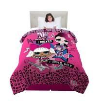 "Franco Kids Bedding Super Soft Microfiber Reversible Comforter, Twin/Full Size 72"" x 86"", L.O.L. Surprise"
