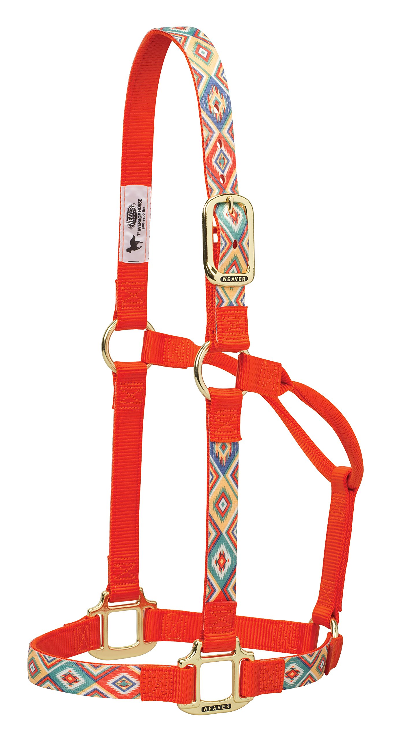 Weaver Leather Patterned Non-Adjustable Halters