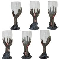 Design Toscano Toast of the Zombie Sculptural Goblet: Set of Six