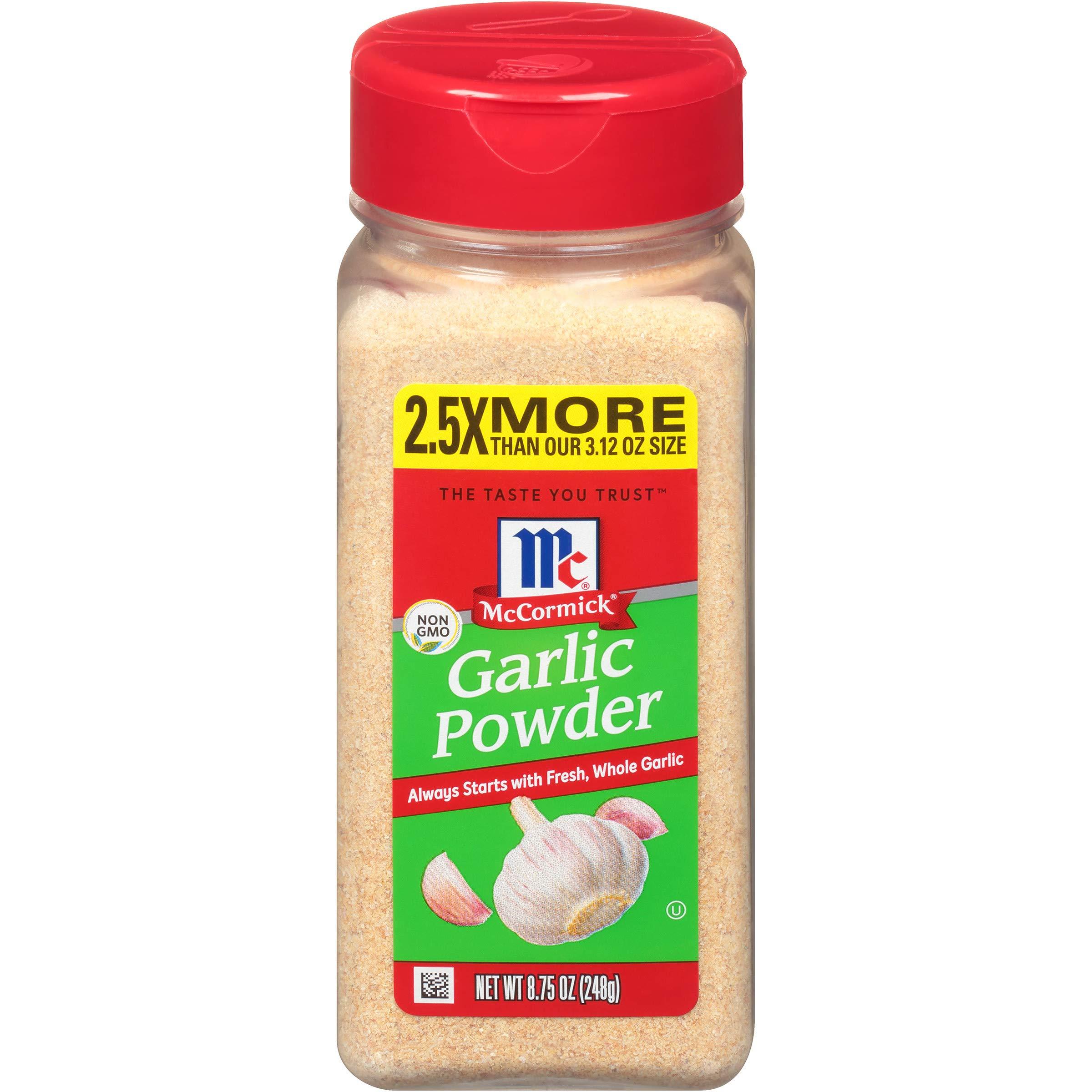 McCormick Classic Garlic Powder, Value Size, 8.75 Oz