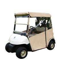 """Golf Cart Cover – 3-Sided """"Over-The-Top"""" Cart Cover for Club Car (DS2000+) Drivable Golf Cart Cover Enclosure – Sunbrella Canvas - Cart Cover for Golfers – Fits Golf Bags, Utility Box"""