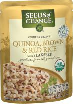 SEEDS OF CHANGE Organic Quinoa, Brown & Red Rice, 8.5oz