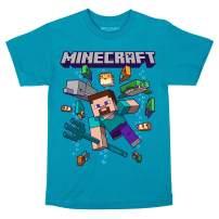 JINX Minecraft Ocean Friends Boys' Tee Shirt