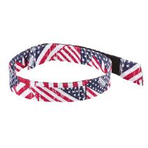 Cooling Bandana, Stars & Stripes, Evaporative Polymer Crystals for Cooling Relief, Quick and Secure Fit, Ergodyne Chill Its 6705