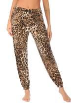 Ekouaer Women Pajama Pants Plaid Lounge Bottom Sleepwear Pj Bottoms Loose Pants with Pockets