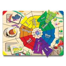 The Learning Journey Lift & Learn Puzzle – Color Web – Educational Color Teaching Toddler Toys & Gifts for Boys & Girls Ages 3 and Up