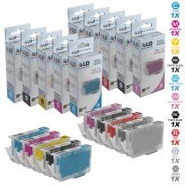 LD Compatible Replacements for Canon PGI-72 10PK Ink Cartridges: 1 6402B002, 1 6403B002, 1 6404B002, 1 6405B002, 1 6406B002, 1 6407B002, 1 6408B002, 1 6409B002, 1 6410B002, 1 6411B002
