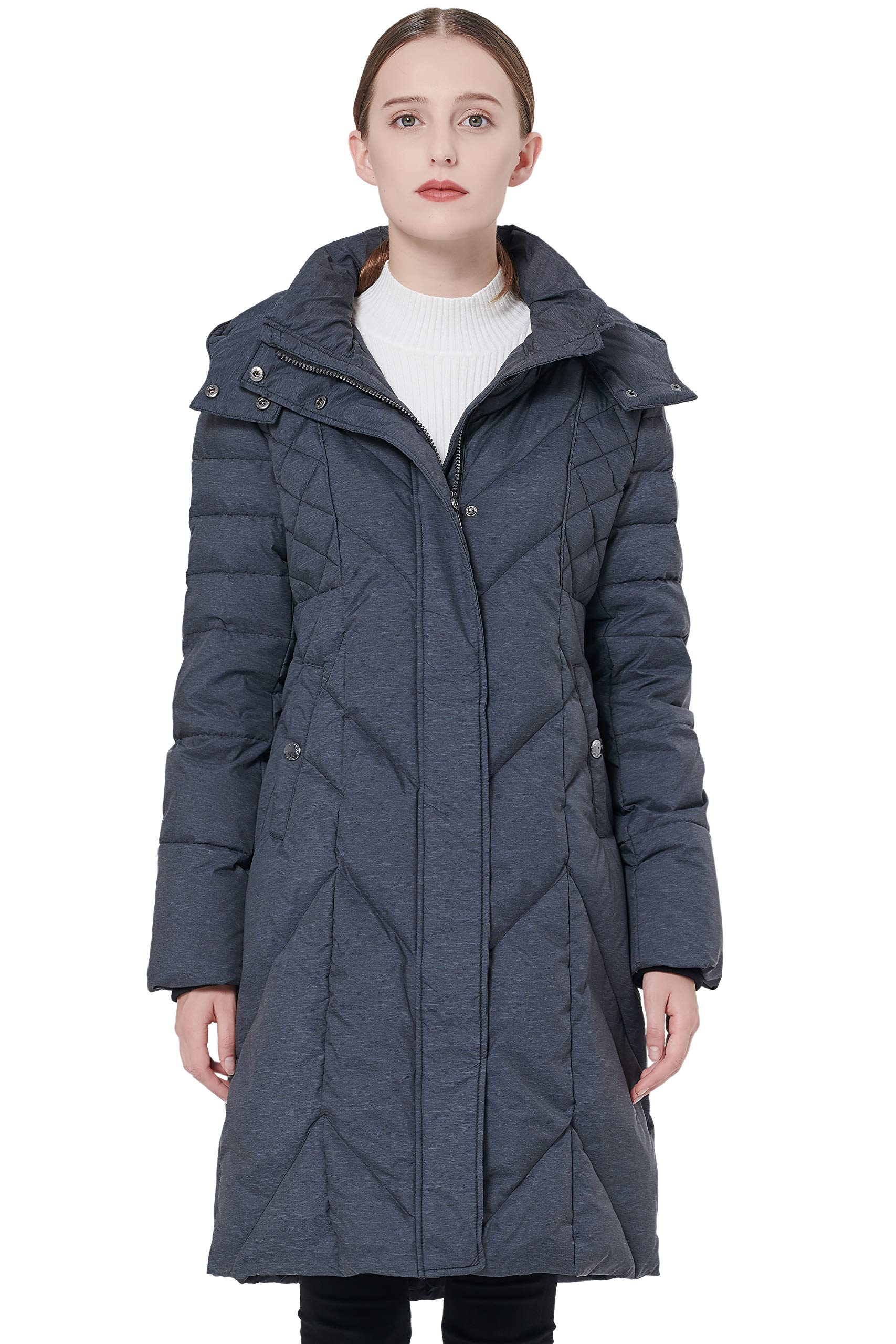 Orolay Women's Thickened Down Jacket with Hood