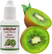 Hobbyland Candy Flavors (Kiwi Flavoring, 1 Fl Oz), Kiwi Concentrated Flavor Drops