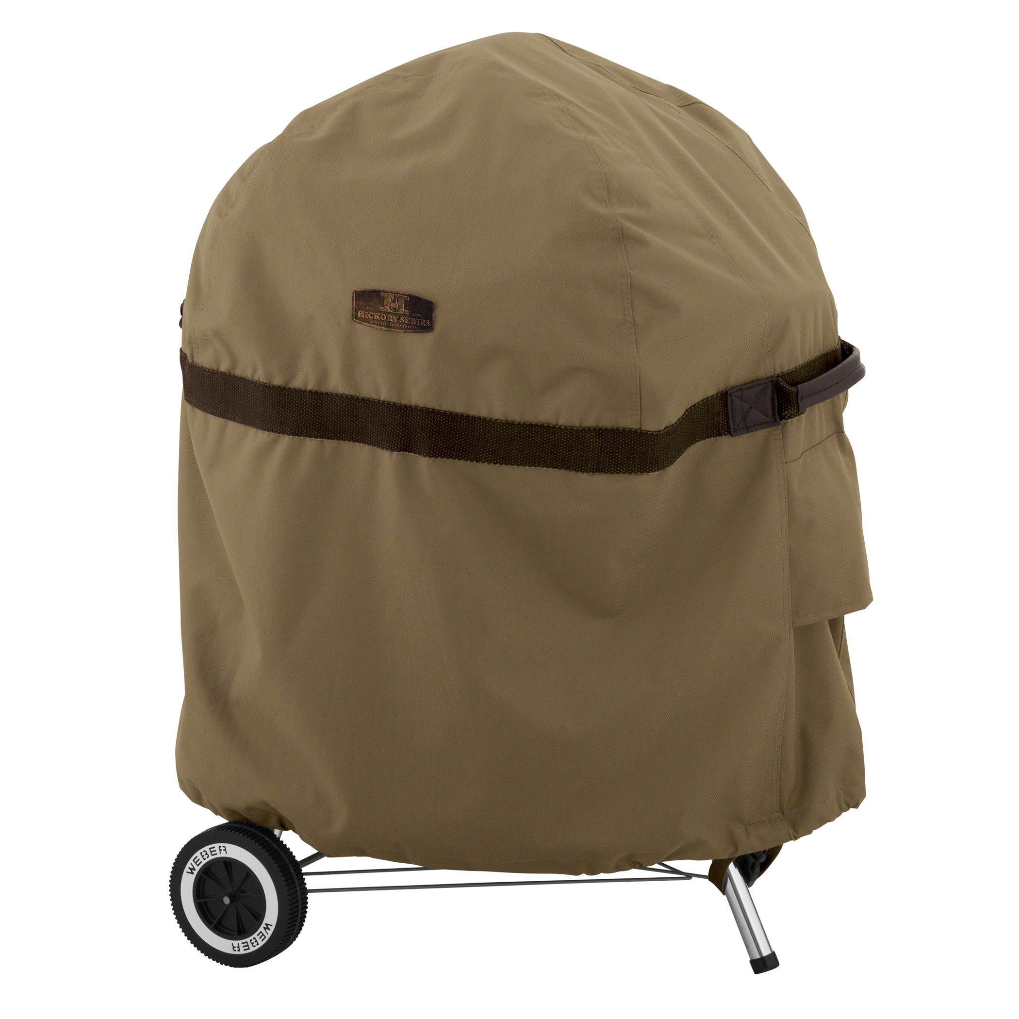 Classic Accessories Hickory Water-Resistant 26.5 Inch Kettle BBQ Grill Cover