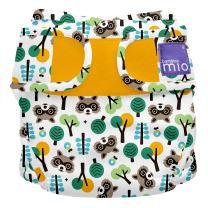 Bambino Mio, miosoft cloth diaper cover, raccoon retreat, size 2 (21lbs+)