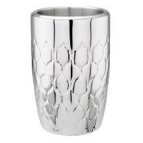 """Avante"" Embossed Stainless Steel Double Walled Wine Cooler"