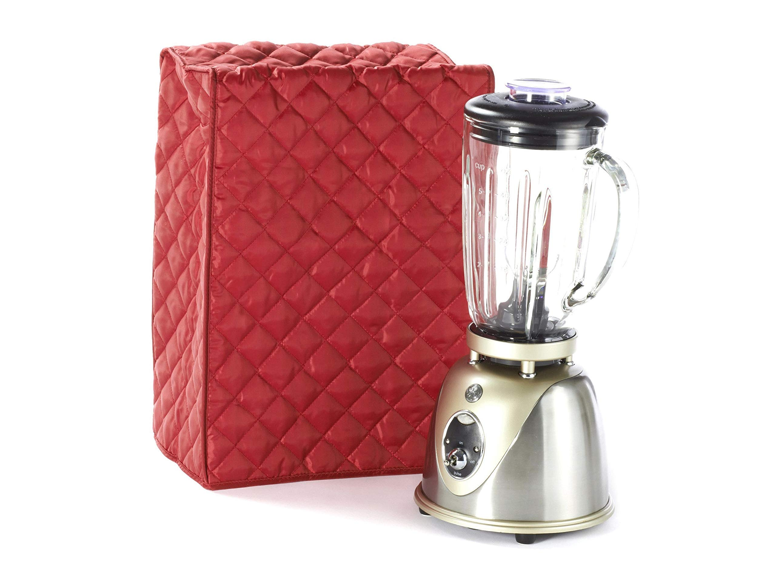 Covermates Keepsakes - Blender Cover – Dust Protection - Stain Resistant - Washable – Appliance Cover - Red